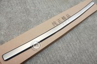 audi bumper protector - Peugeot High quality stainless steel Rear bumper Protector Sill