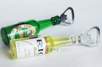 beer gift ideas - FBH032148 The idea of beer bottle opener Solid lovely household act the role ofing is tasted Fridge Magnet crafts gifts handmade