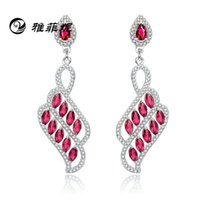 Wholesale s925 sterling silver jewelry diamond earrings high grade micro burst models in Europe and America like to build factory outlets
