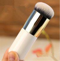 Fondation souple professionnel pinceau plat la crème BB Portable Maquillage Chubby Brosses