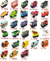 210pcs Free Shopping TREM CARRO MUITO 70pcs Conjunto completo dos brinquedos de madeira trem de brinquedo carro (1set = 70pcs)