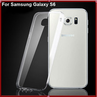 silicone gel - 0 mm TPU Ultra Thin Slim Soft Silicone Rubber Clear Transparent Gel Case Cover for Samsung Galaxy S6 G9200 S5 S4 S3 Note iPhone s
