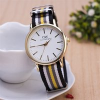 Wholesale Top Brand Luxury Style Daniel Wellington Watches DW Watch For Men Nylon Strap Military Quartz Wristwatch Clock Reloj hombre mm