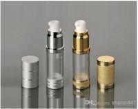 Wholesale Empty refillable Airless Lotion Treatment Pump Cosmetic Bottles ml oz For makeup primer gels lotions liquid makeup etc