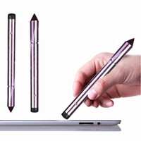 Wholesale 2016 Popular Universal Capacitive Touch Screen Pen Stylus For iPhone iPad Tablet Smart Phone PC colors Tonsee