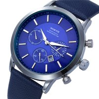 Wholesale Fashion Men Casual Famous Brand Quartz Waterproof Sports Watch Wristwatch Hours Clock Gift Date x montre reloj relogio masculino
