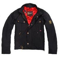 Cheap 2016 fashion UK union small flag steve mcqueen waxed cotton jacket roadmaster waxed jacket i am legend jacket Motorcycle Jackets