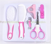 baby health kit - 6 piece Baby Care Supply Child Infant Health Grooming Manicure Nuring Kit Set