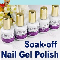 Cheap 5pcs New Glitter Nail Polish UV Gel Polish Soak-off Color Free Shipping Wholesale 3248