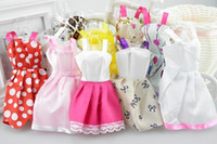 Wholesale New Barbies doll Beautiful Short Skirts Doll s Fashion Dress Clothes Barbie doll clothes barbie doll accessories