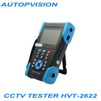Wholesale 3 quot Multimeter CCTV Tester with IP address search and wire tracker HVT