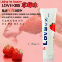 adult panda - Adult sex toys Love Kiss edible flavored Lube Strawberry Lube lubricant ML bottle bottle battery toy kung fu panda
