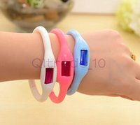 Wholesale 300PCS HHA383 sport waterproof silicon Mosquito Repellent Band Bracelets Anti Mosquito Pure Natural Baby Wristband WENWEN ring