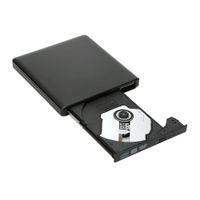 Wholesale Home DVD Player USB Slim DVD RW External DVD Drive Burner Writer Portable CD DVD ROM Optical Bay for Linux for Windows Mac order lt no t