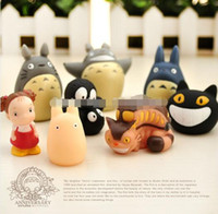 Wholesale 8 pieces Fashion Vinyl Dolls Toroto plastic Finger Toys Mini Cute Animal Finger Puppet