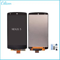 Wholesale For LG Google Nexus D820 D821 LCD Screen Display Touch Digitizer Assembly repalccement DHL with Open Tools