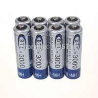 Wholesale 8x AA mAh V Ni MH rechargeable battery BTY cell for RC Toys Camera MP3