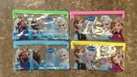 Wholesale Frozen Pencil bags Elsa Anna Pencil bags Frozen Pencil cases stationery school supplies for Christmas Kids Boys Girls Gift H0036
