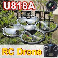 flip camera - U818A or U818A RC helicopter UFO D Flip G ch Axis Drone RC quadcopter with camera or without camera Udi U818A RC drone