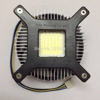 Wholesale High Quality w w high power led heat sink cooling fan DC V led high power radiator led fan