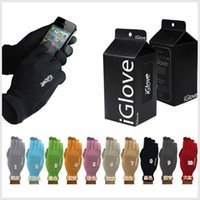 high quality gloves - High quality Unisex iGlove Capacitive Touch Screen Gloves for iphone C S for ipad for smart phone iGloves gloves With retail pack0811001