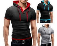 ufc - 2015 mens new T shirt fashion slim fit t shirts men s hoodies short sleeved sweatshirts DT08