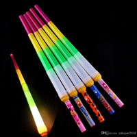 Wholesale Christmas party supply Brand new Low price Telescopic Glow Sticks Flash Light Up Toy Fluorescent Sword Concert Christmas Carnival Toys