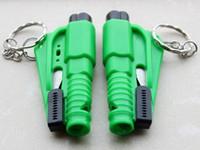 Wholesale Car Emergency Rescue Tool Window Glass Breaker Seat Belt Cutter Car Safety Car Knife Tool Glass Breaker Life Hammer