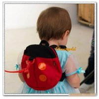 backpack safety month - 1PC Cute month Baby Kids Childs Safety Harnesses Ladybug Comfortable Straps Backpack bag school Hot Selling