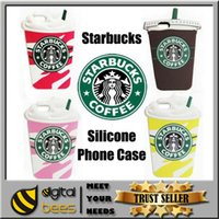 starbucks - 3D Starbucks Coffee Cup Simulation Soft Gel Rubber Silicone Case Phone Cover For Galaxy S6 S5 Note4 iPhone Plus S S case