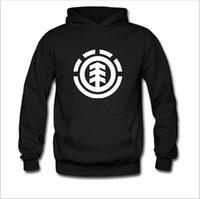 Cheap 2015 Winter Men's Skateboard Element Hoodies Men Hip Hop Sweatshirts Man Fleece Hoody Pullover Sportswear Clothing