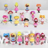 Girls bebe fashions - 2014 Frozen bonecas bebe reborn kids Doll hot plastic rag mini MGA Lalaloopsy Doll girls Fantasy Educational toy for boy girl