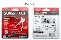 Wholesale SWISS TECH Utili Key in Key Ring Chain Convenient Portable Multi Tool Pocket Knife bbaa