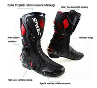 motocross boot - NEW HOT sell motorcycle boots AAA high quality Pro Biker SPEED Racing Boots Motocross Boots Motorbike boots stock