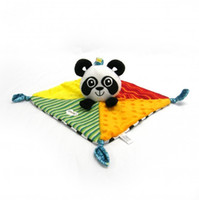 0-12 Months baby blanket lovey - Cozy Baby Panda Security Blanket Lovey Kids Preferred Toy Soothing Banky