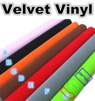 Wholesale Velvet vinyl Car Styling London Velvet wrap self adhesive tuning protective film roof styles Size mX15m ftX49ft