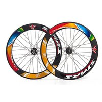 Wholesale STARS Road Bike Single Speed Fixed Gear Fixie Track Wheels Wheelsets C mm