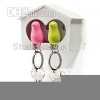 Keyring couple maison Avis-Oiseaux gros-alliage de zinc Couple Keychain et clés pour couple Promotions Girlfriend Cadeau New Maison Décoration