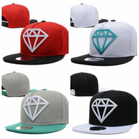 Wholesale Swag Diamond Kids Snapback flat caps Hats Children Strapback Baby Baseball Cap for Boys Girls Hat bones aba reta Gorras bone