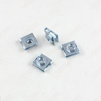 automotive nuts - nterior Accessories Auto Fastener Clip x Automotive Metal Nut U Type gasket Clips Clasp Panel Trim Retainer suitable for Size mm self