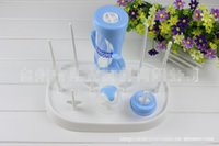 Wholesale Baby Bottle Rack New Baby Accessories Bottle Warmers Sterilizers Baby Infant Bottle Dryer Rack Kitchen Clean Drying Shelf Feeder Holder