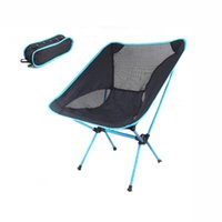 Wholesale Four colors Camping Portable Folding Stool Chair Seat for Outdoor Fishing Festival Picnic BBQ Beach with Bag Black H10370