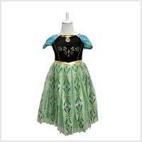 Cheap TuTu Frozen dress Best Summer Pleated princess dress