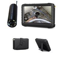 Wholesale DHL Mini wireless inspection camera Portable DVR Viewer Long distance transmission motion detect