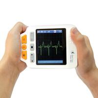 Wholesale HEAL FORCE Portable Easy ECG EKG Handheld Heart Rate Monitor Sensor PRINCE D