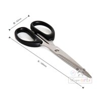 Wholesale Logo scissors cutting tools stationery personalized business supplies office tool laser printing with your logo customized