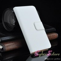 """Cheap 2016 Real Genuine Leather Wallet Credit Card Holder Stand Case Cover For I6 iphone6 4.7'' Plus 5.5"""""""