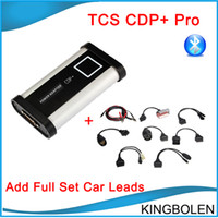 Wholesale New Arrival CDP pro Bluetooth with delphi free keygen software with full set car cables CDP plus pro Cars Truck Scanner DHL free