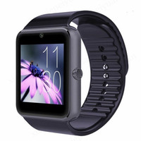 Wholesale 20PCS GT08 Bluetooth Smartwatch Smart Watch for iPhone IOS Samsung Galaxy Android Smartphone Pedometer Sleep Monitoring NFC Dropshipping