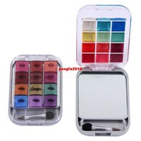 Wholesale fashion makeup set colors brand colorful eye shadow lip gloss beauty make up eyeshadow palette